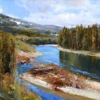 Cyrus Afsary (b. 1940): River Island