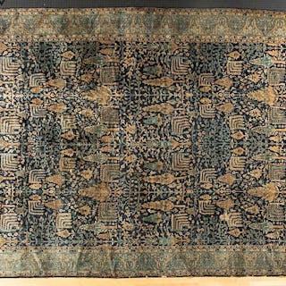 Palace-size Oriental carpet