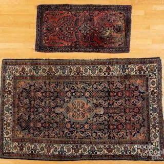 Hamadan carpet, etc.