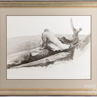Andrew Wyeth print