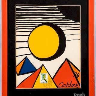 Two Alexander Calder lithographs