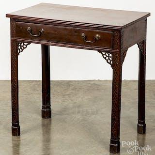 George III mahogany work table