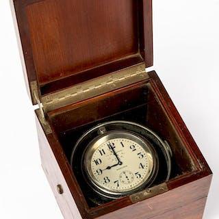 Hamilton gimbaled ship's clock