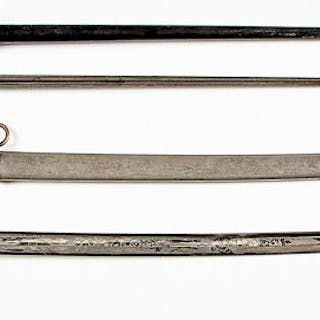 US model 1902 field officer's dress sword, etc.