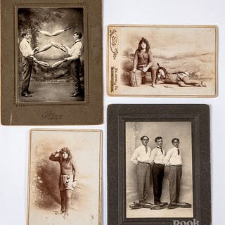 Reading, Pennsylvania carte-de-visite photographs