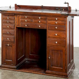 American Cabinet Co. dental roll top work bench