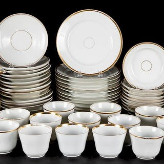 Hard paste porcelain tea and luncheon service