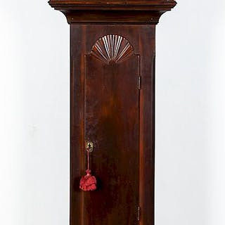 Pennsylvania poplar tall case clock