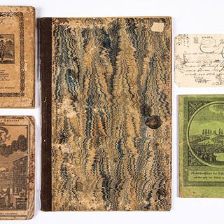 Three early printed booklets, etc.