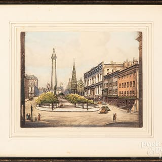 Richard Herdman Smith signed artist proof etching