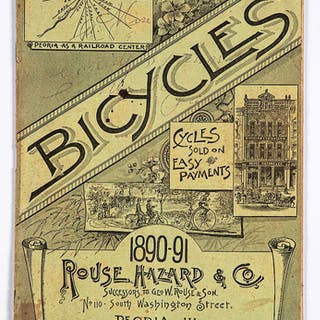 Rouse Hazard & Co. 1890-91 bicycle catalog