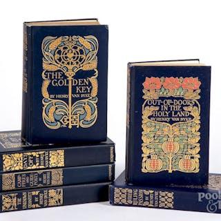 Henry Van Dyke novels, Margaret Armstong covers