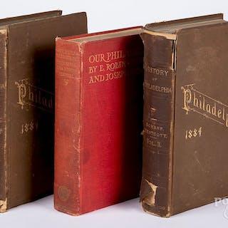 Three Philadelphia history books