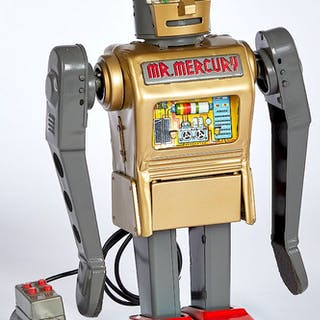 Japanese Mr. Mercury robot battery operated
