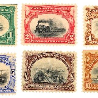 STAMPS: Pan American #294-299 Unused