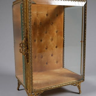 Antique French Upright Jewelry Casket