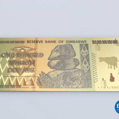 Gilt Zimbabwe bill.