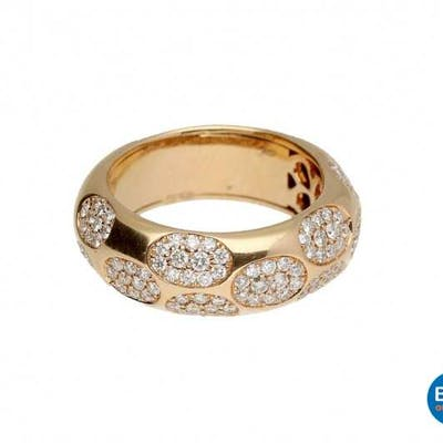 Ring 1.00 crt Diamond 18 carat.