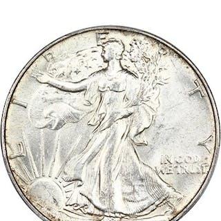 1945 50c PCGS MS63