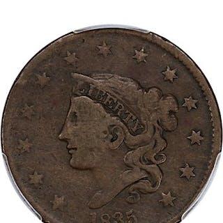 1835 1c PCGS VG-10 (Head of 1836)