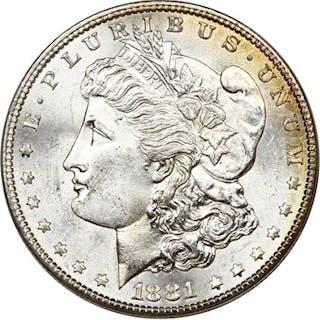 1881-S $1 PCGS/CAC MS65 (OGH)