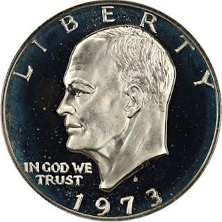 1973-S $1 NGC Proof 69 UCAM (Silver)
