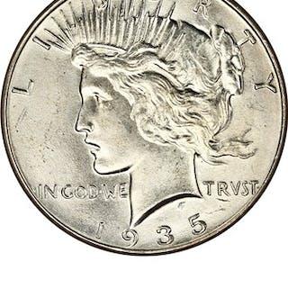 1935 $1 NGC MS64