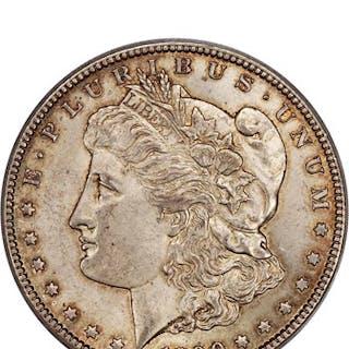 1890-CC $1 PCGS AU58