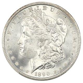 1890-O $1 PCGS MS65
