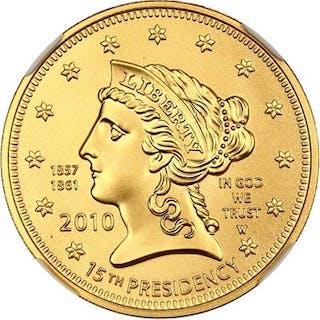 2010-W Buchanans Liberty $10 NGC MS70