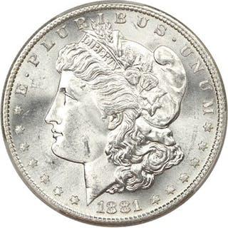 1881-S $1 PCGS MS65