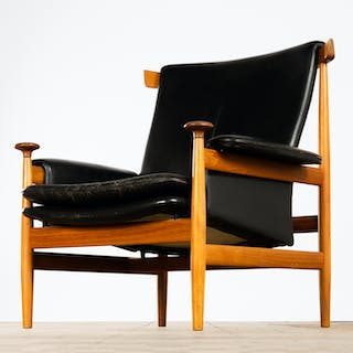 Finn Juhl, France & Søn, chair / lounge chair / arm chair, model 'Bwana