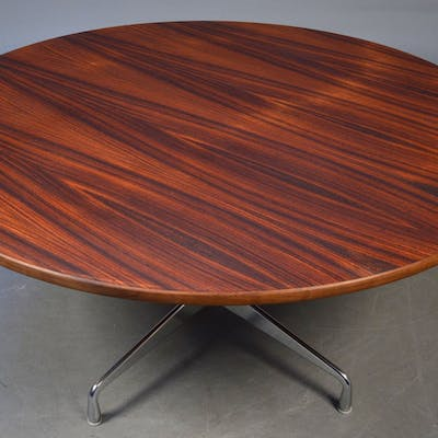 Charles Eames Round Dining Table Segmented Table In