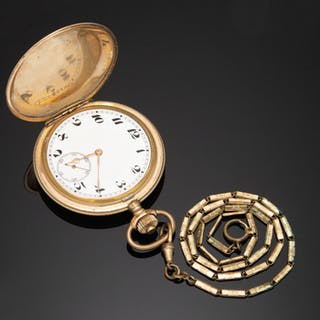 Uhr / Taschenuhr, Metall