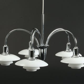 Poul Henningsen. PH 2/1 bombardment chandelier