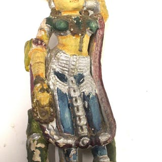 Steinfigur eines Gottes Shiva, um 19 Jh.