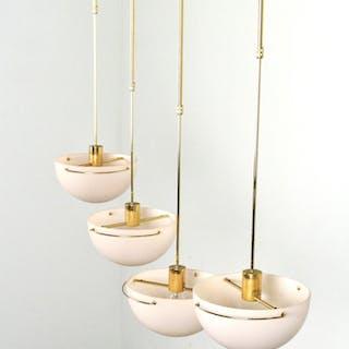 Luciano Cesaro, Set Pendelleuchten Modell Airel von Tre Ci Luce ( 4)