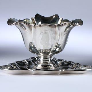 4b62638f24e Grann & Laglye. Sauceskål af sølv, anno 1948