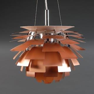 Poul Henningsen. Pendant lamp, 'Artichoke', new and unused, produced