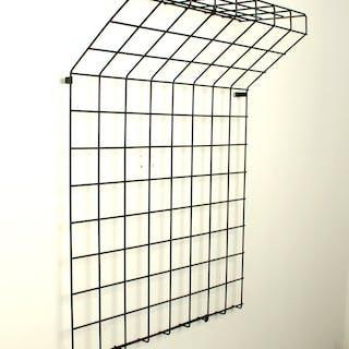 Karl Fichtel , Drahtwerke Erlau Draht Garderobe / Wire Coat Rack der