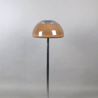 Cosack, Stehleuchte der 1960/70er Jahre mit Acrylschirm