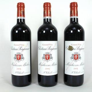 Grand Vin Chateau Poujeaux Moulis-en-Médoc 2005 (3)