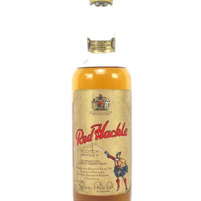 Red Hackle Blended Scotch Whisky Sherry Wood 1960