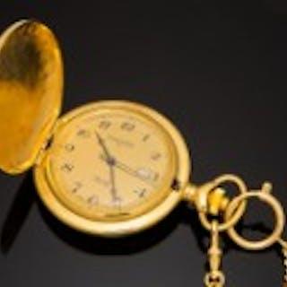 Des Carles, Uhr / Taschenuhr, Metall, vergoldet, Deutschland