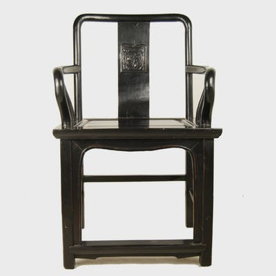 Black Guanmaoyi Chair