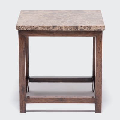 Marble Top Square Table