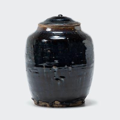 Petite Glazed Pantry Jar with Lid