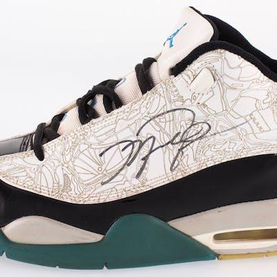 Michael Jordan Signed Air Jordan Dub-Zero Basketball Shoe (JSA ALOA