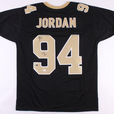 "Cameron Jordan Signed Jersey Inscribed ""Who Dat!"" (JSA COA)"