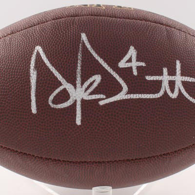 Dak Prescott Signed NFL Full-Size Football (JSA COA & Prescott Hologram)